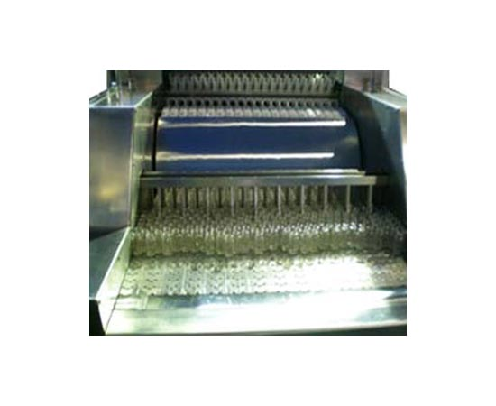tunnel type vial washing machine - automatic linear tunnel type